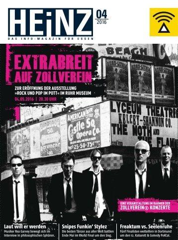 HEINZ Magazin Essen 04-2016