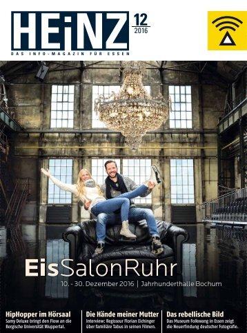 HEINZ Magazin Essen 12-2016