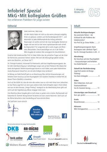 Infobrief MkG Ausgabe 05/2017