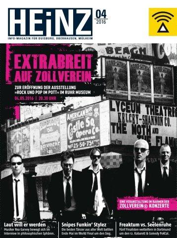 HEINZ Magazin Oberhausen 04-2016