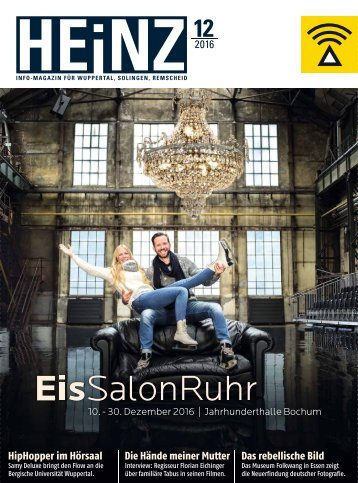 HEINZ Magazin Wuppertal 12-2016