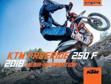 KTM FREERIDE 250 F 2018 Media-Information_DE