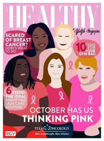 Healthy RGV Issue 107 - October Has Us Thinking Pink