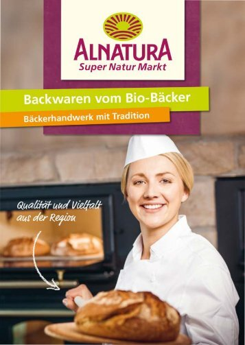 Alnatura Backwaren vom Bio-Bäcker
