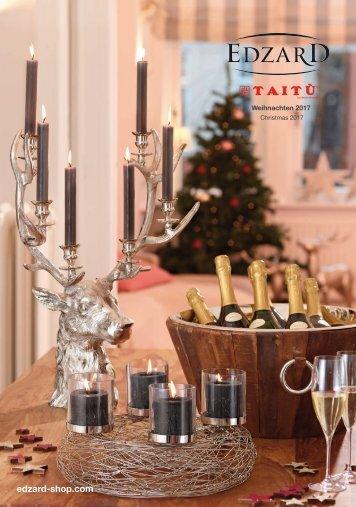 EDZARD Weihnachtskatalog - Christmas 2017 (B2B Katalog)
