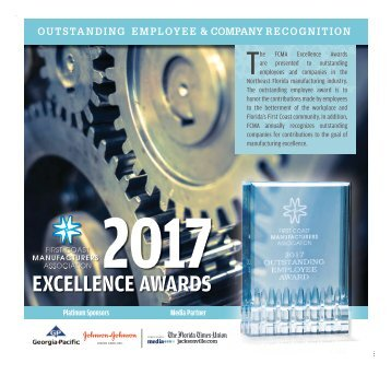 First Coast Manufacturers Association 2017 Excellence Awards