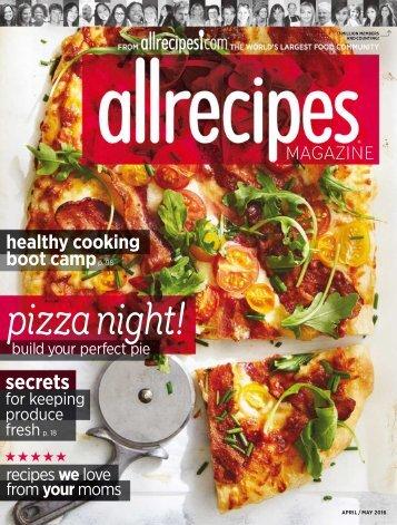 Allrecipes - May 2016