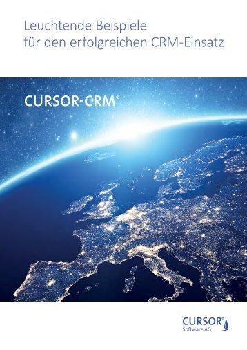 Leuchtende Beispiele CURSOR-CRM