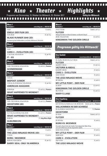 Kino KW42 / 19.10.17