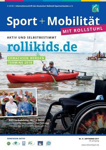Sport + Mobilität mit Rollstuhl 09/2017