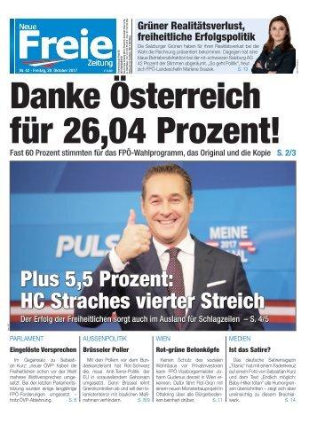 Danke Österreich für 26,04 Prozent