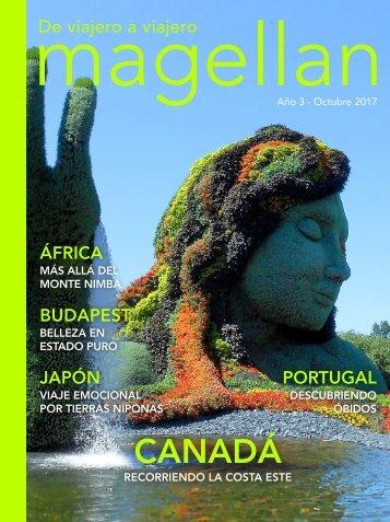 Revista de viajes Magellan - Octubre 2017