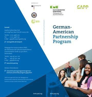 German-American Partnership Program (GAPP)