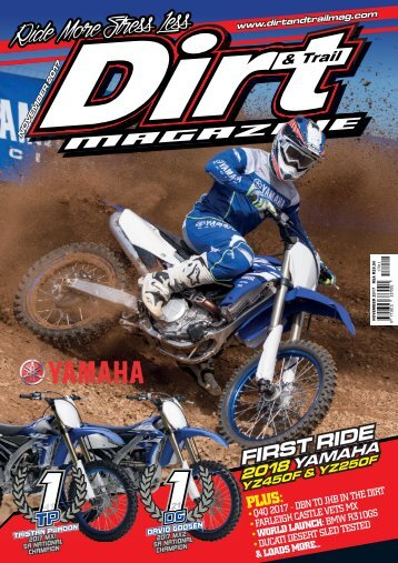 Dirt and Trail Magazine November issue