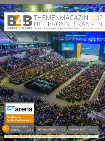TAGUNGEN, EVENTS UND CATERING | B4B Themenmagazin 11.2017