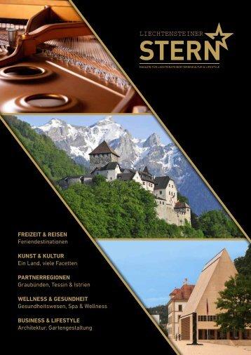 Liechtensteiner Stern Ausgabe 1 online · Hochglanzmagazin