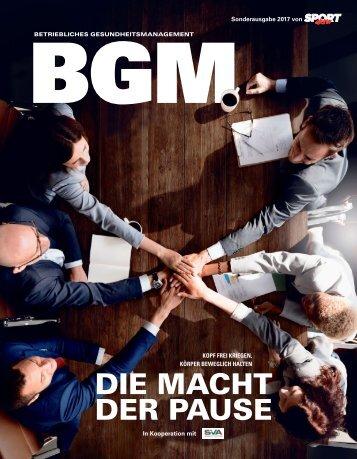 Betriebliches Gesundheitsmanagement Magazin