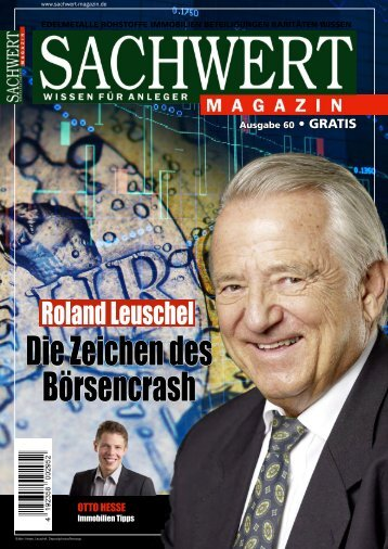 Sachwert Magazin Ausgabe 60, Oktober 2017