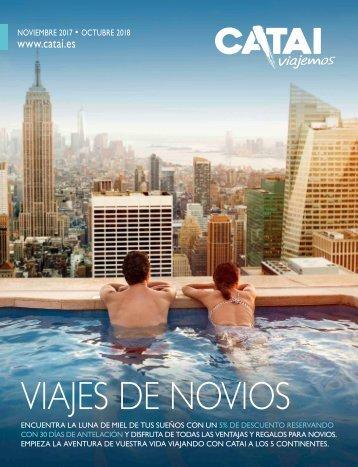 Catálogo CATAI TOURS NOVIOS 2018
