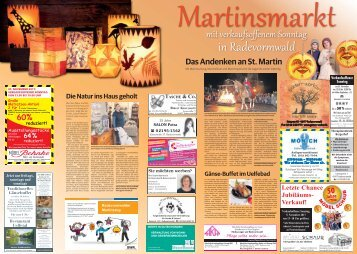 Martinsmarkt in Radevormwald  -04.11.2017-