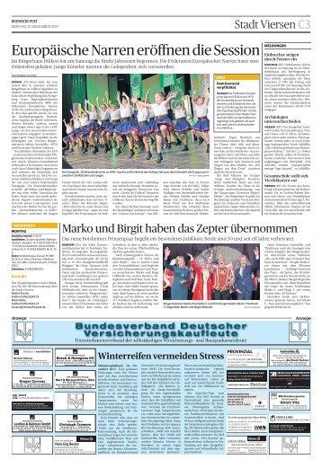 Bundesverband Deutscher Versicherungskaufleute  -06.11.2017-