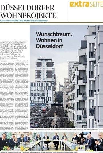 Düsseldorfer Wohnprojekte  -07.11.2017-