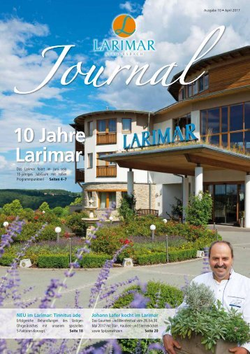 Larimar Journal Frühling 2017