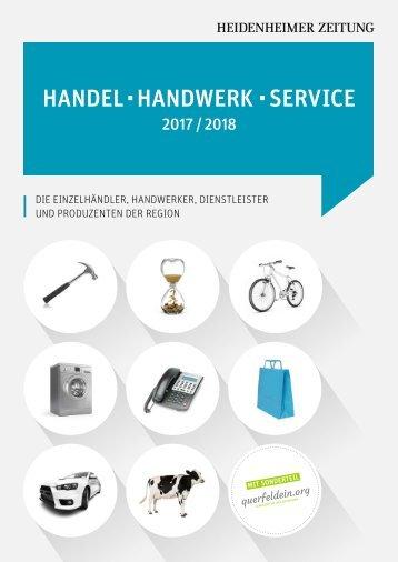 Handel Handwerk Service 2017