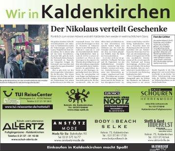 Wir in Kaldenkirchen  -09.11.2017-
