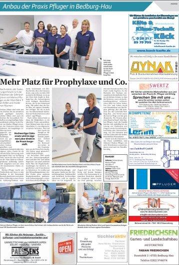 Anbau der Praxis Pfluger in Bedburg-Hau  -11.11.2017-
