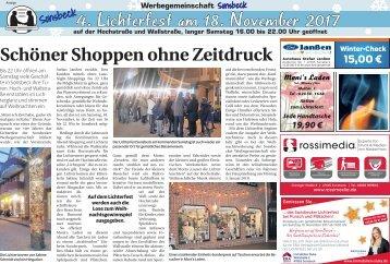 4. Lichterfest in Sonsbeck  -16.11.2017-