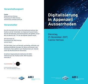 Digitalisierung in Appenzell Ausserrhoden
