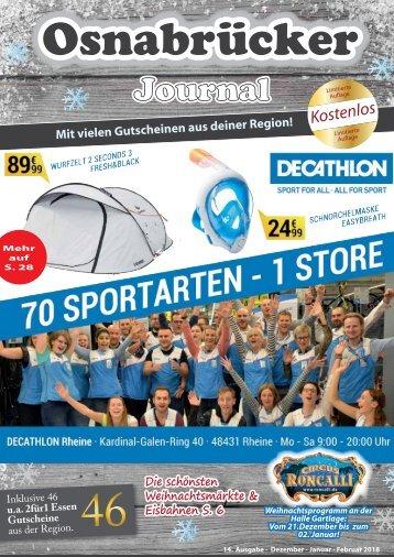 Osnabrücker Journal Winter 2017 / 2018