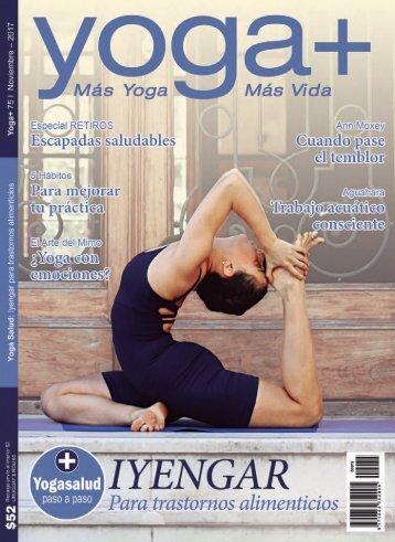 Revista Yoga + (Edición 75)