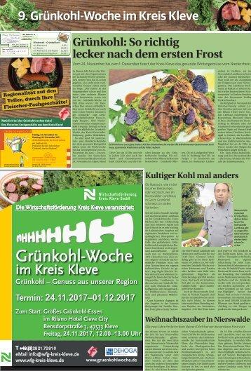 9. Grünkohl-Woche im Kreis Kleve  -23.11.2017-