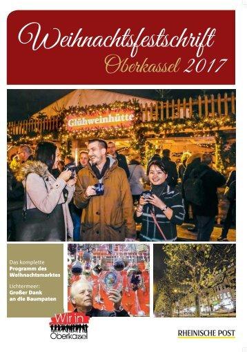 Weihnachtsfestschrift Oberkassel 2017  -23.11.2017-