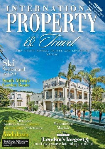 International Property & Travel Vol 24 No 1 - January/February 2017