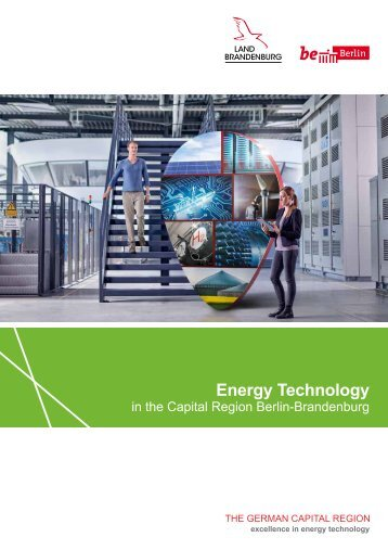 Energy Technology in the Capital Region Berlin-Brandenburg