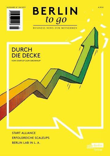 Berlin to go, Ausgabe 4.2017