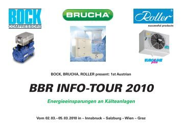 BBR INFO-TOUR 2010 - Walter Roller GmbH & Co.