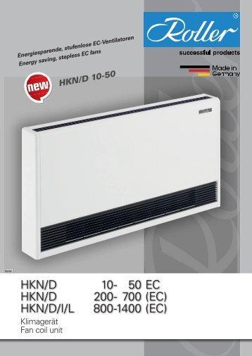 HKN/D/I/L 800-1400 - Walter Roller GmbH & Co.