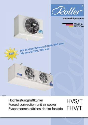 HVS/HVST - Walter Roller GmbH & Co.