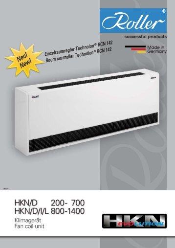 Servicefreundlichkeit HKN/D 200–700 - Walter Roller GmbH & Co.