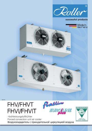 FHV/FHVT flatline flatline flatline flatline - Walter Roller GmbH & Co.