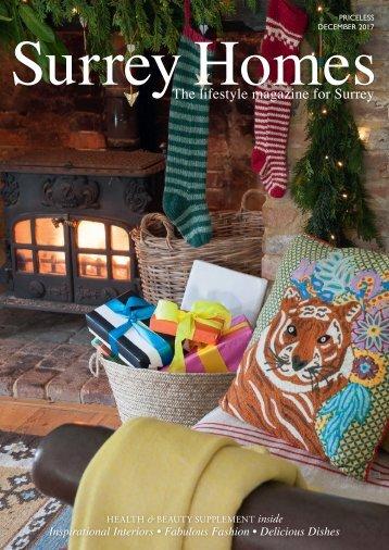 Surrey Homes | SH38 | December 2017 | Health & Beauty supplement inside