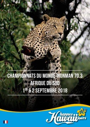 Hannes Hawaii Tours - IM 70.3 WM Südafrika 2018 FR