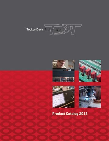 2018 TDT Product Catalog