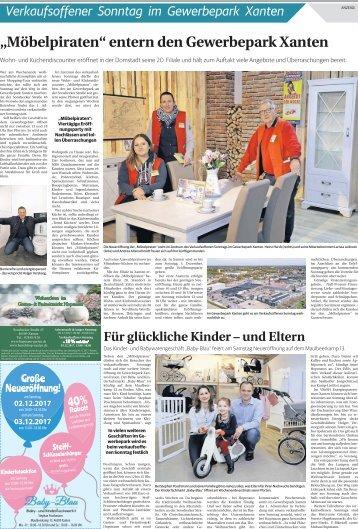 Verkaufsoffener Sonntag im Gewerbepark Xanten  -01.12.2017-