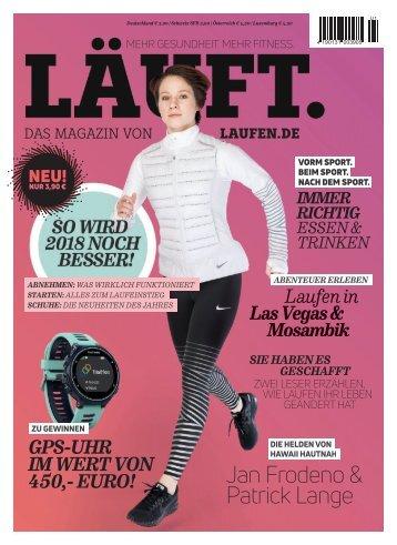 LÄUFT. Das neue Magazin von laufen.de