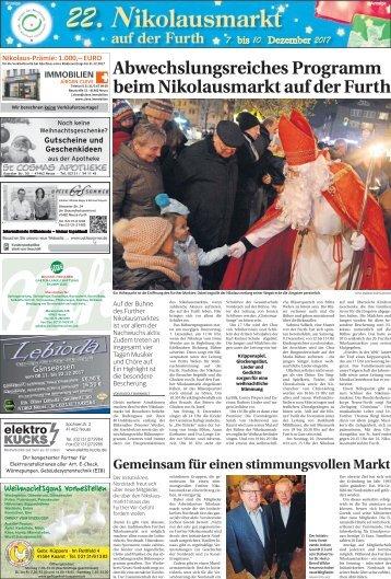 22. Nikolausmarkt auf der Furth  -06.12.2017-